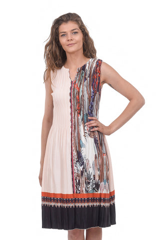 Veeca LD Grace Dress, Peach