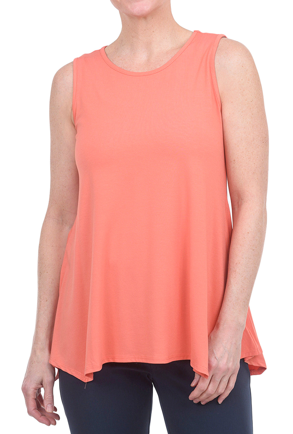 Estelle & Finn Fit and Flare Top, Mango