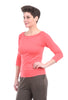 Comfy USA Modal Cindy Top, Coral