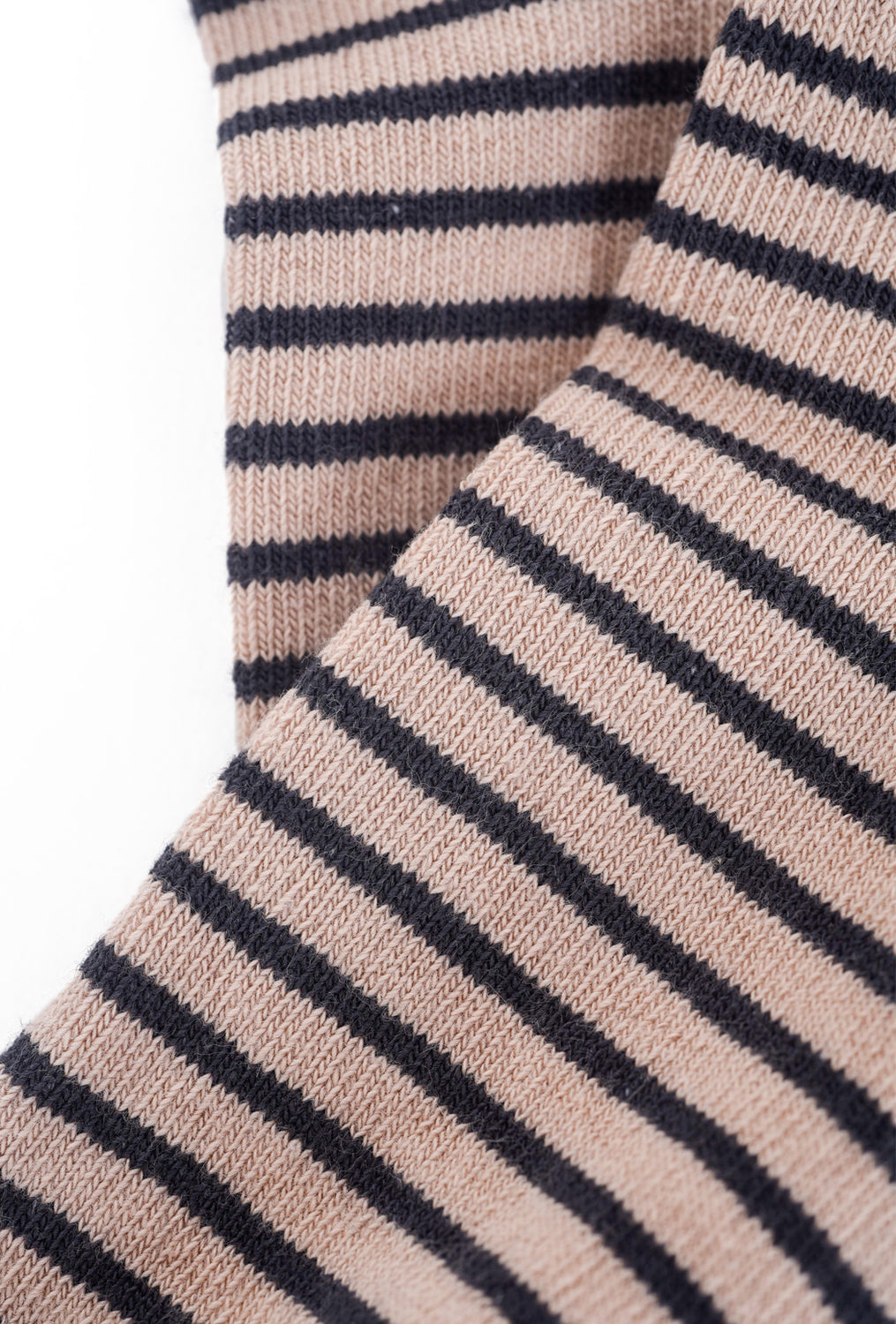 Little River Sock Mill Striped Bootie, Nude/Asphalt One Size Nude