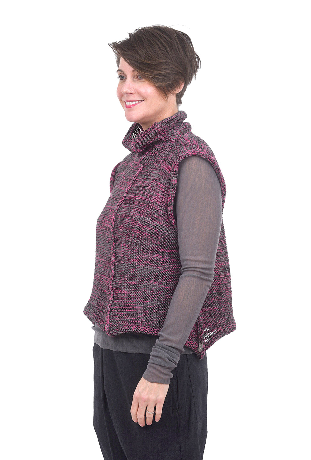 Skif International Demi Vest, Pink/Gray One Size Pink