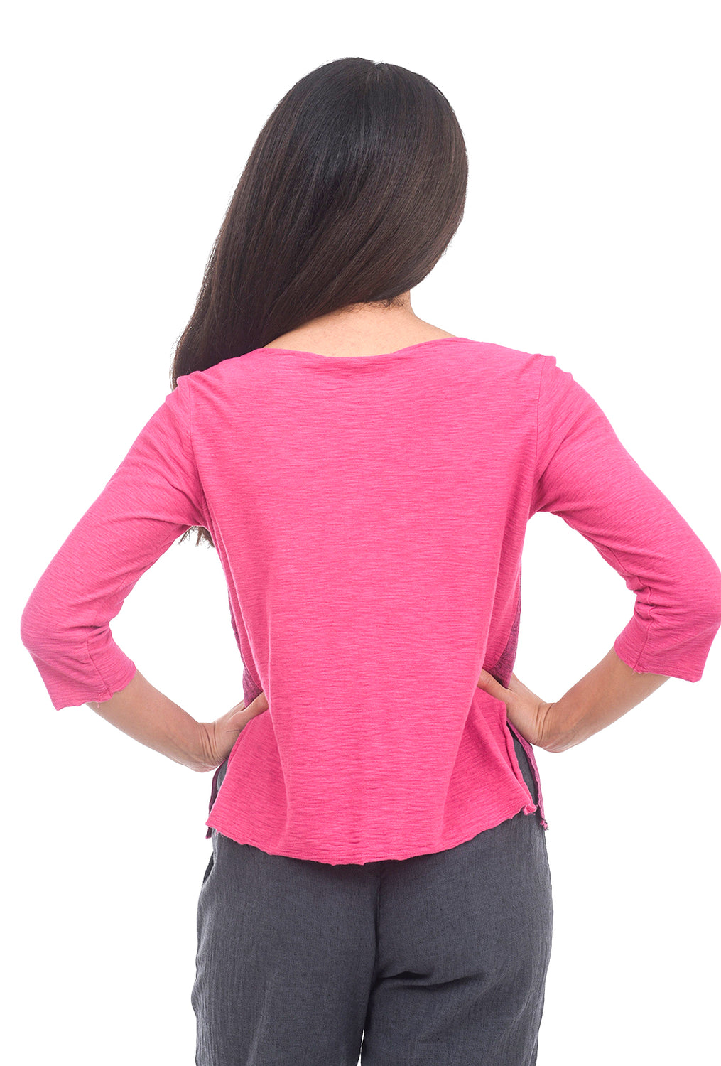Cut Loose Cross Hatch Combo Top, Cherry Fizz