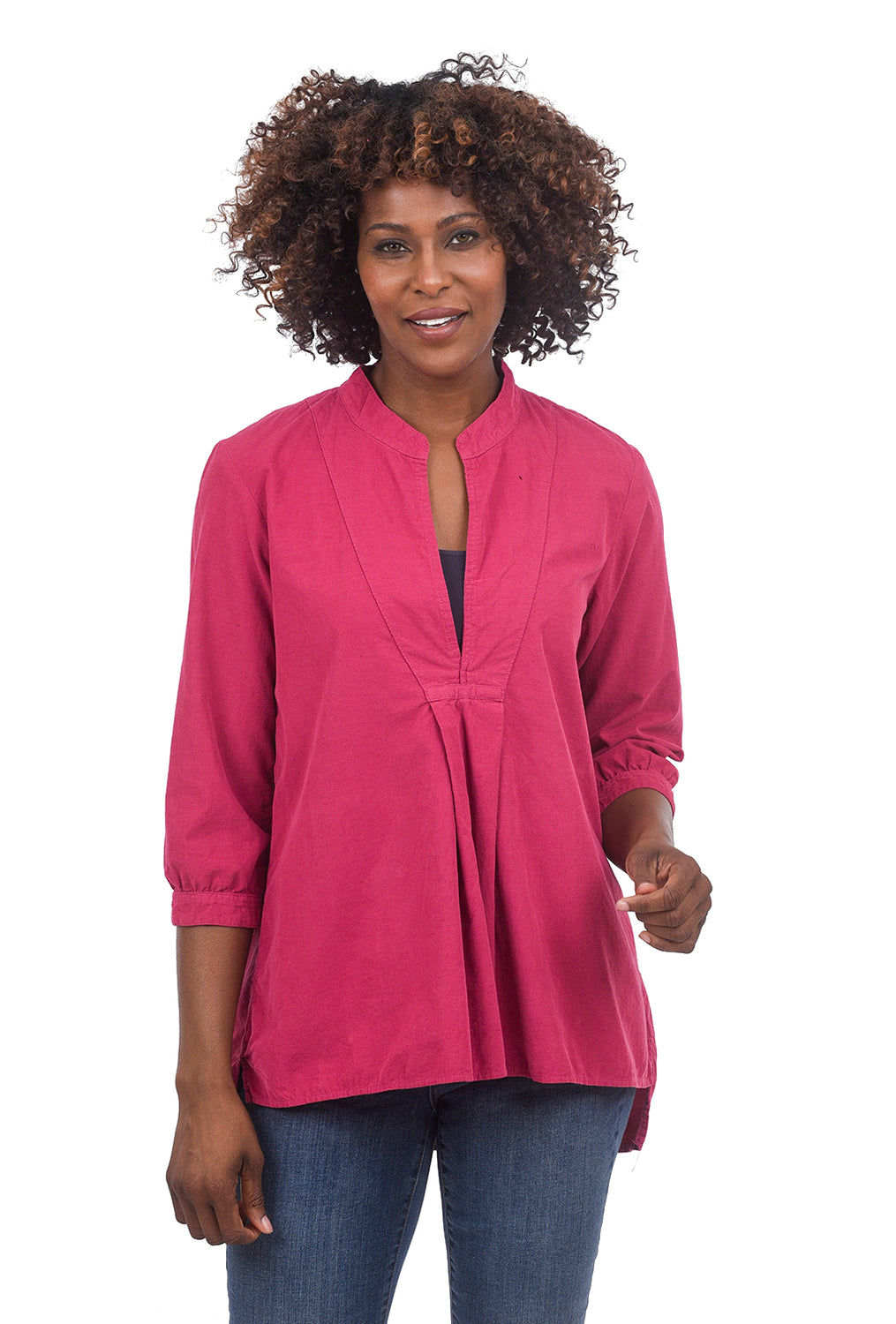 CP Shades Cord Dakota Shirt, Raspberry