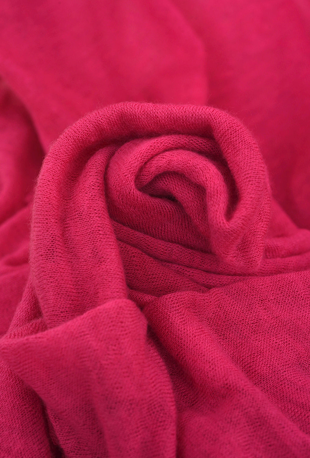 Grisal Cashmere Love Scarf, Pink Fire