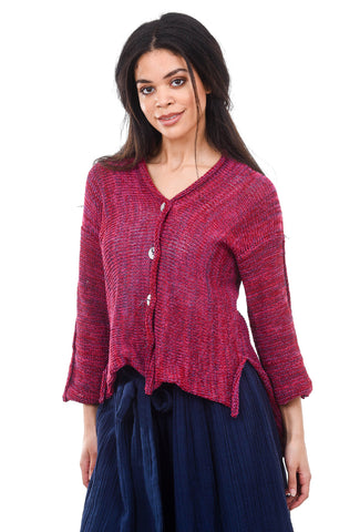 Skif International Alana High-Low Cardie, Razz Berry One Size Berry