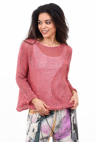 Skif International Claude Pullover, Coral/Silver One Size Coral