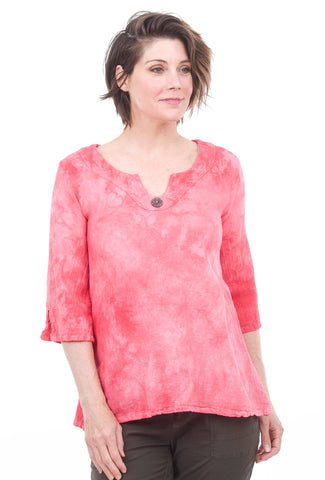 Cottonways Monica Top. Rose Quartz