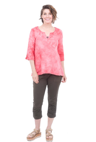 Cottonways Monica Top, Rose Quartz