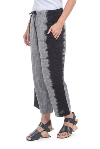 Cynthia Ashby CA Plaid Pant, Gray Multi