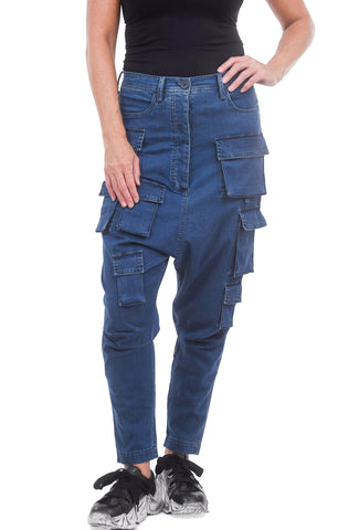 Rundholz Black Label Many Pockets Denim, Indigo