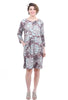 Bitte Kai Rand Cracked Peonies Dress, Mauve