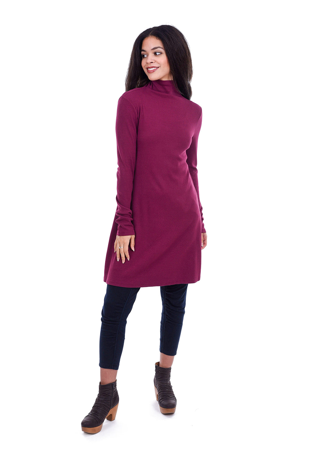 Prairie Underground New Usual Tunic, African Violet