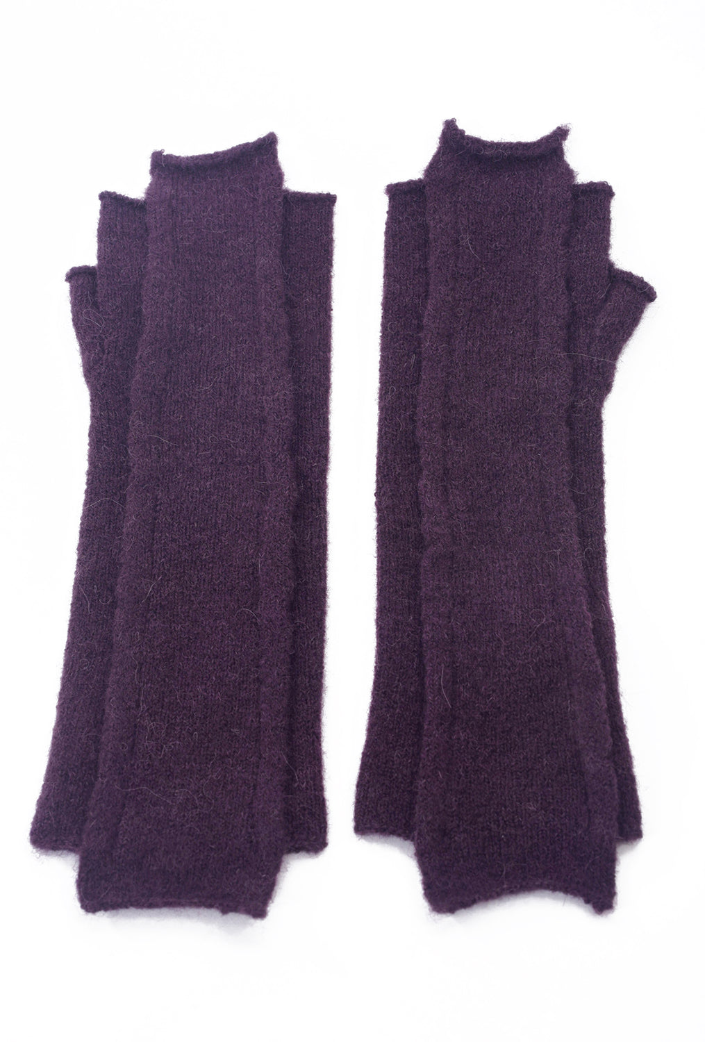 Rundholz Black Label Cozy Overlap Arm Warmers, Merlot
