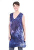 Love Tanjane Silky Satin Tussa Tank Dress, Revel Blue