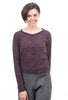 Hem & Thread Pretty Pointelle Knit Top, Plum