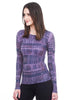 AMB Designs Secret Code Crew Top, Aged Grape One Size Grape