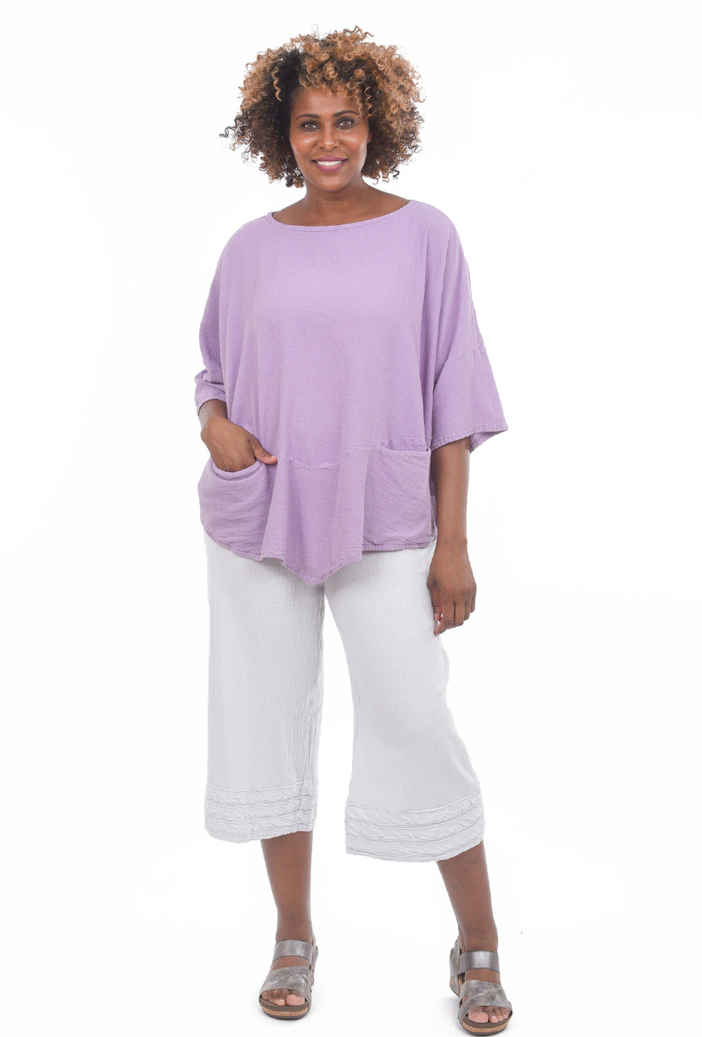 Oh My Gauze Kitty Tunic, Orchid One Size Orchid