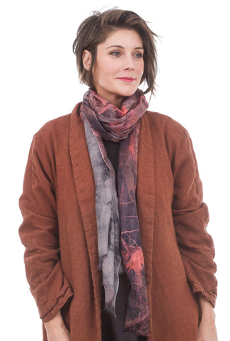 Blue Pacific Cashmere Bliss Scarf, Autumn Leaf