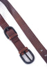 Johnny Farah Ditto Leather Belt, Brown