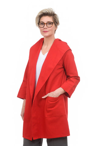 Beyond Threads Canvas Robin Jacket, Poppy