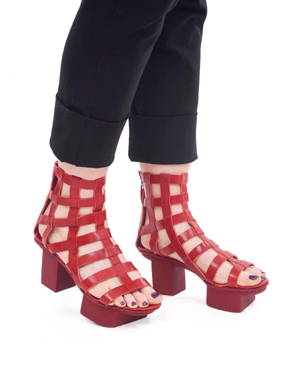 Trippen Shoes Aviary Happy Shoes, Red LXP