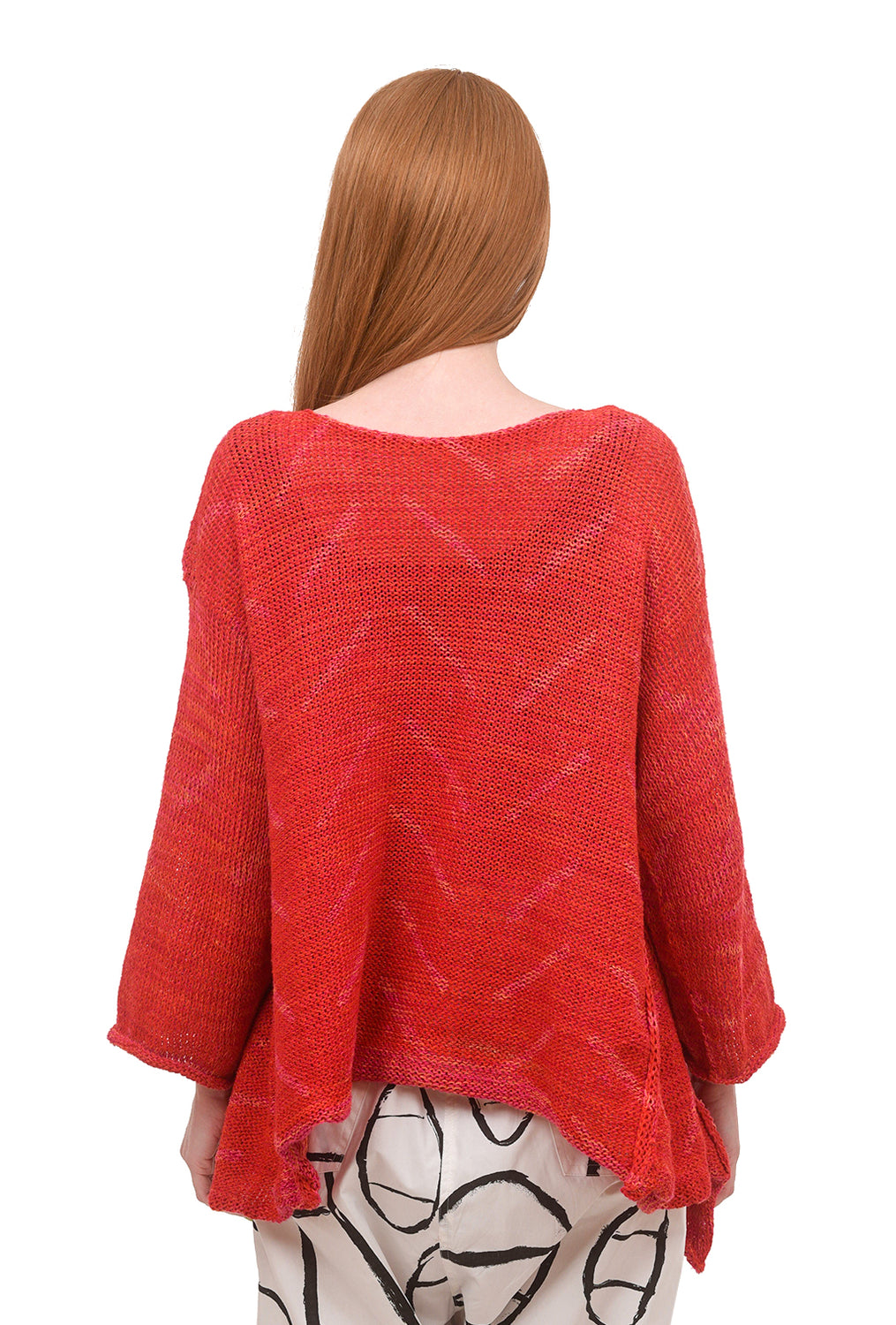 Skif International High-Low Picnic Sweater, Fuchsia One Size Fuchsia