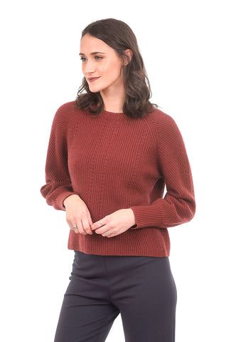 Margaret O'Leary Knits Madeline Pullover, Sedona