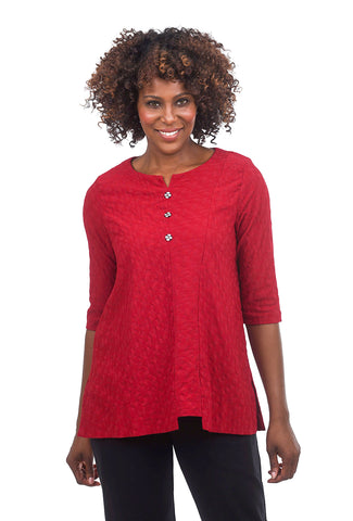 Niche Diamond Radio Top, Red