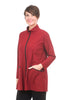 Jason by Comfy USA Selina Jacket, Mulberry