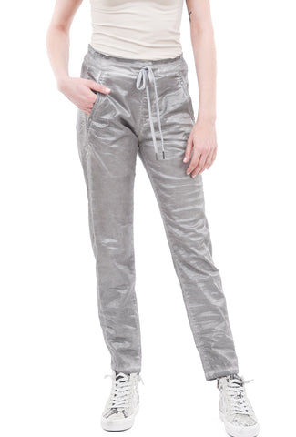 Alembika Evening Shimmer Skinny Pant, Silver
