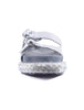 Free People Panama Footbed Sandals, Silver