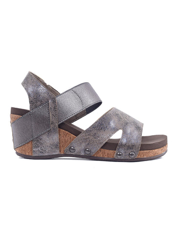 Corkys Fig Sandals, Pewter