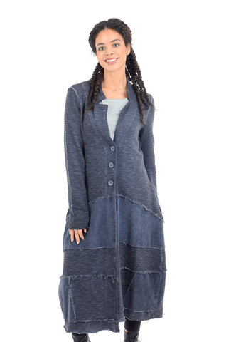 Luukaa Margaret French Terry Duster, Indigo