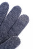 Santacana Madrid Long Button Cashmere Gloves, Charcoal One Size Charcoal