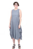 Jason by Comfy USA The London Dress, Dove Gray