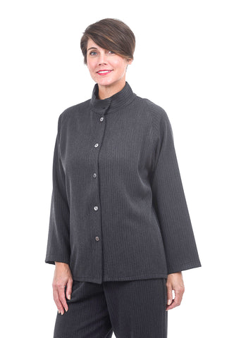 Christopher Calvin Signature Shirt Jacket, Gray