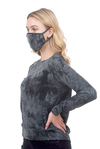 Coin1804 Cozy Tie-Dye Mask, Slate Multi One Size Slate
