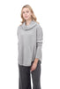 Planet Perfect Waffle Cowl, Heather Gray One Size Gray
