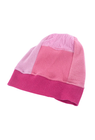 Sardine Clothing Company Recycled Cashmere Hat, Pinks One Size Pink