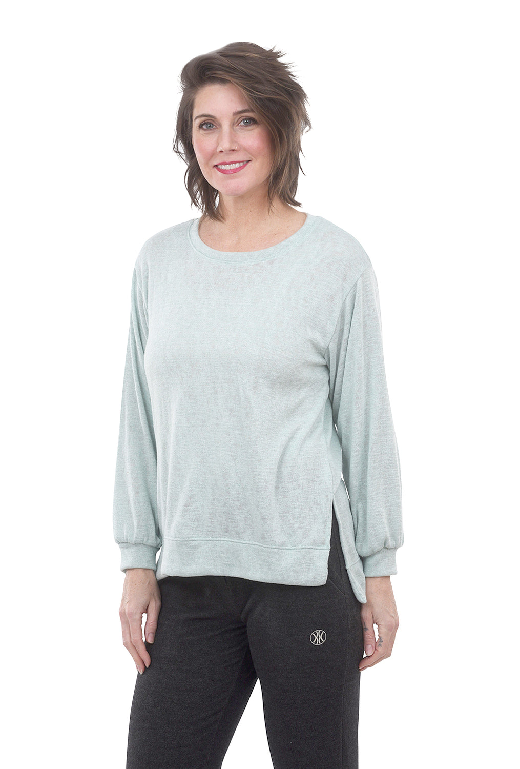 Nally & Millie Minty Fresh Pullover, Cameo Green