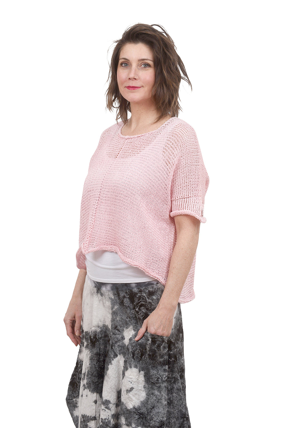 Skif International Marconi Pullover, Ice Pink One Size Pink