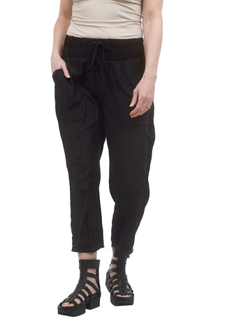 Planet Silky Sweat Pant, Black