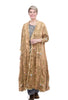 Magnolia Pearl Satin Embroidered O'Leary Coat, Baltic Amber One Size Amber