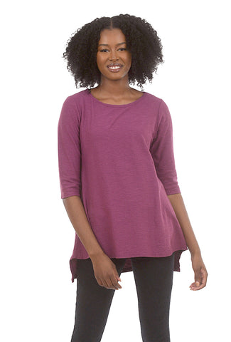 Cut Loose 3/4-Sleeve Long Tee, Radish