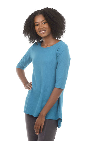 Cut Loose 3/4-Sleeve Long Tee, Gulfstream