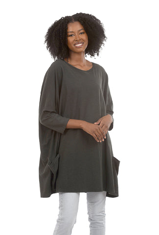 Cut Loose LJ Favorite Pocket Pullover, Pavement One Size Pavement