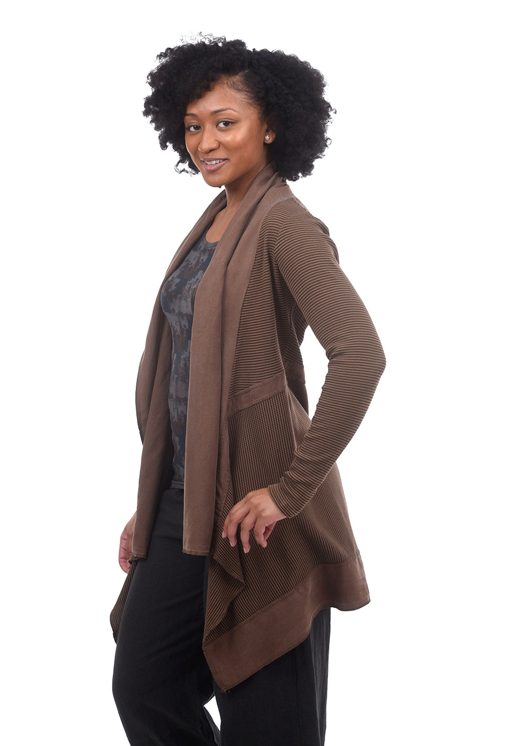 Cut Loose Thermal Inset Jacket, Espresso