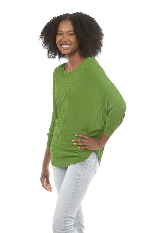 Kerisma Ryu Row Knit Top, Apple Green