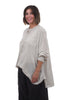 Magnolia Pearl Hand-Block Idgy Shirt, Pacifica Dot One Size White