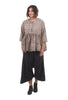 Magnolia Pearl Cotton Twill Jai Trousers, Wallflower Gray One Size Black